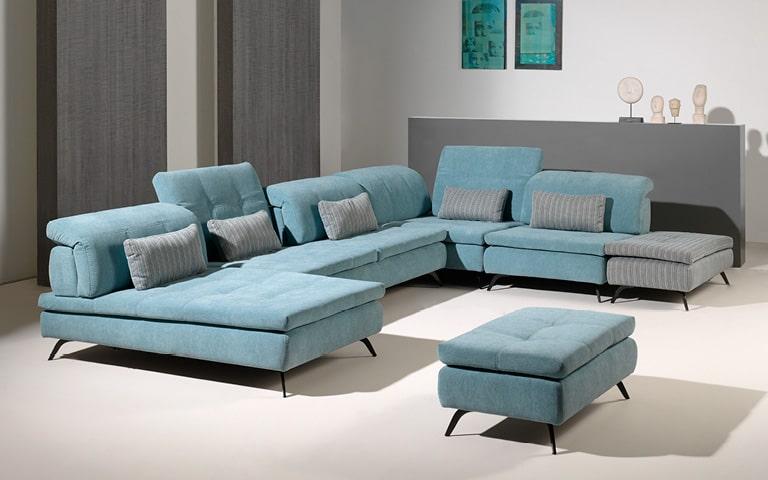 Canapé modulable Emeline - Confort Luxe