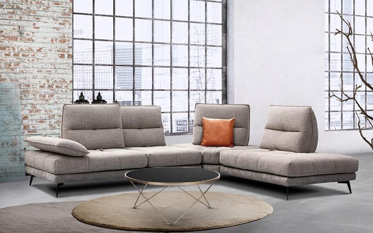 Sofia canapé d'angle - Poldem