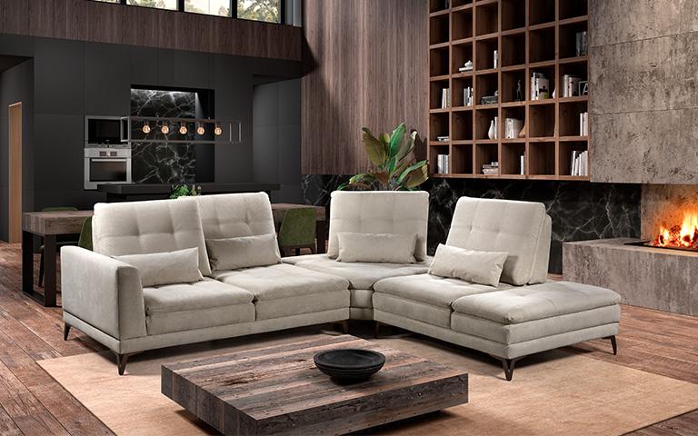 Canapé modulable Run - Confort Luxe